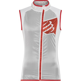 Compressport Trail Hurricane Gilet da corsa Uomo bianco